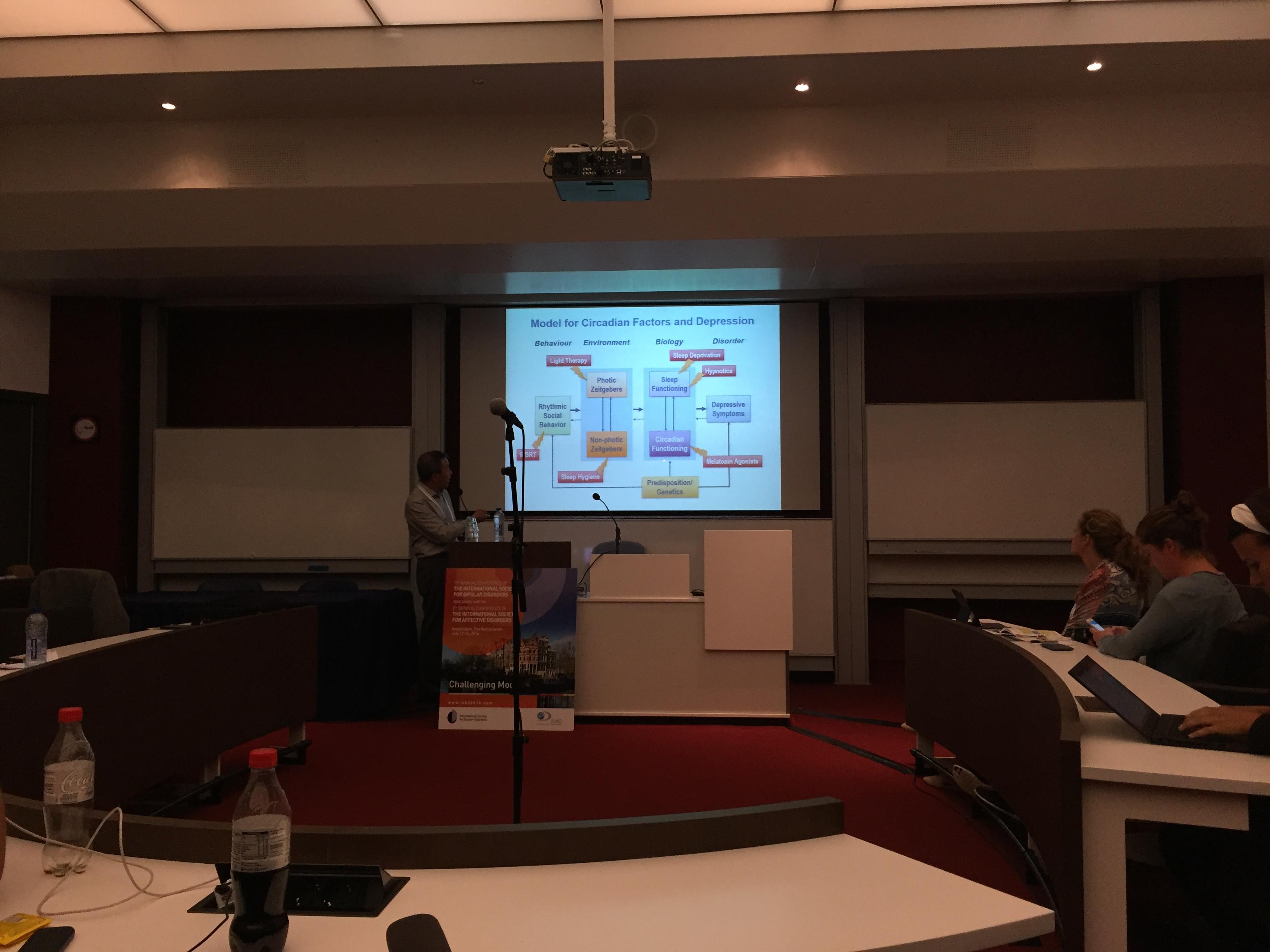 Successful SLTBR satellite symposium in Amsterdam