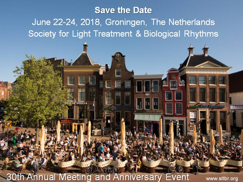 Program booklet for the  30th Annual Meeting in Groningen 2018
